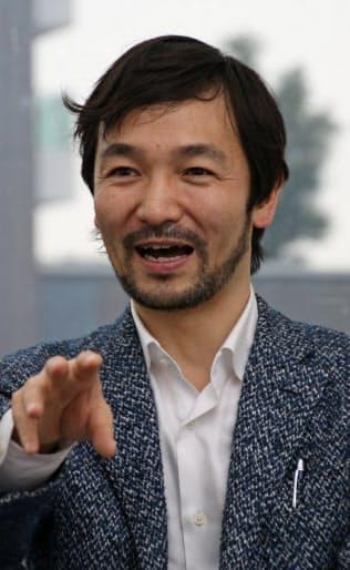 インタビューに応じる林要氏