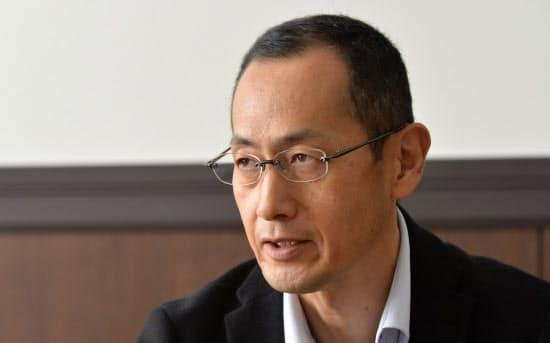 インタビューに答える山中伸弥京大教授