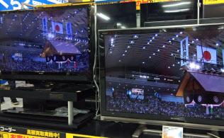 液晶テレビ商戦は盛り上がりを欠く(東京都内の家電量販店)