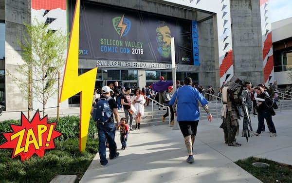 サンノゼ市で開催された「シリコンバレー・コミックコン」