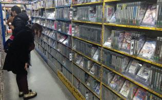 家庭用ゲームソフトは性能に比べ値段の上昇ピッチが緩やか(東京・千代田のゲーム専門店)
