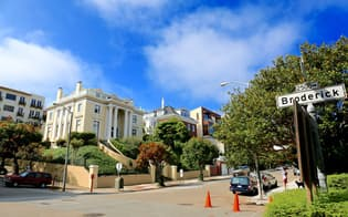 サンフランシスコ市内の超高級住宅地
