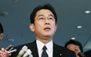 岸田氏は地元広島開催のG7外相会合に意気込みをみせる