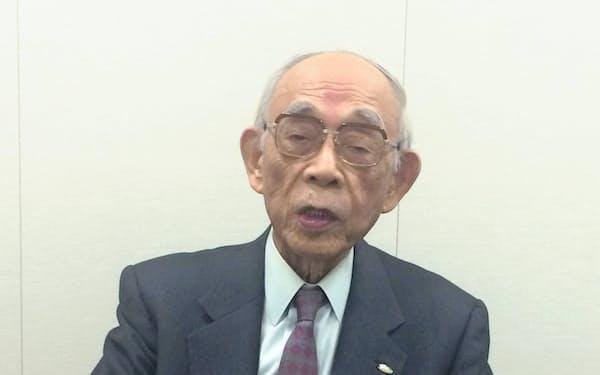 中曽根政権で官房副長官を務めた唐沢俊二郎氏。今後半年間の日程が詰まったカレンダーをみせられ、首相の腹の内を察したという。