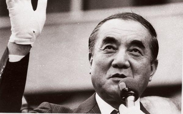 中曽根首相