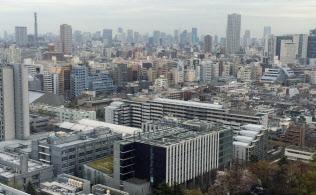 中古マンションの市場価格は頭打ち感が強まっている(東京都新宿区)