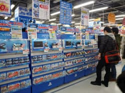 PSVitaの購入層は大学生やサラリーマンが多い(東京都千代田区のソフマップ秋葉原本館)