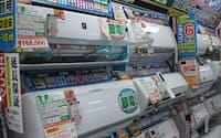 節電モデルの人気が高い(東京都千代田区のヨドバシカメラマルチメディアAkiba)