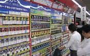 SDカードは大容量品が人気(東京都千代田区のビックカメラ有楽町店)
