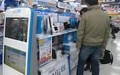 新型ゲーム機の発売で市場の活性化に期待がかかる(東京・千代田のソフマップ秋葉原本店)