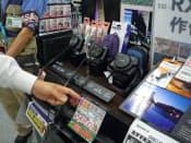 クラシックな形の製品が多い(東京都千代田区のヨドバシカメラマルチメディアAkiba)