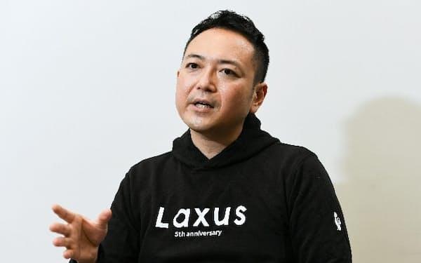 ラクサス・テクノロジーズの児玉昇司CEO