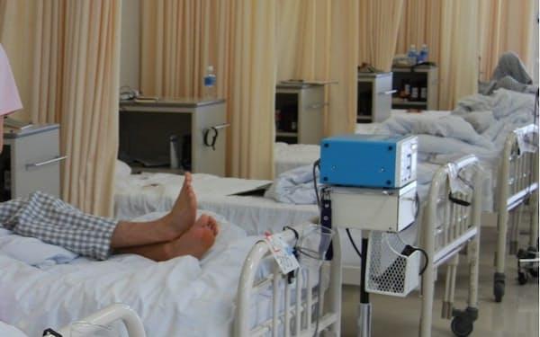 平均入院日数は急速に短期化している