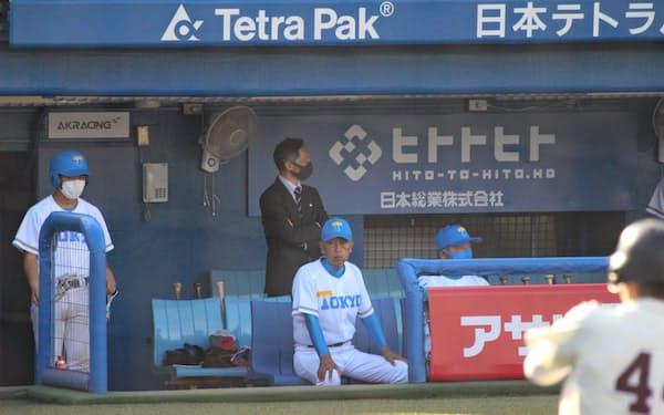 「何かやるとなれば、ストイックに集中力高くやれるのが東大生」。野球部にも可能性を感じている=東大野球部提供