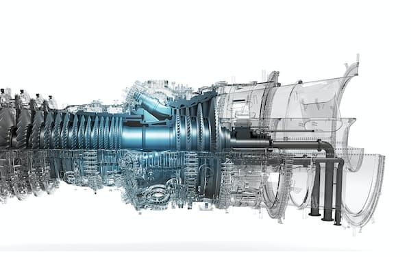 三菱重工業は水素を使ったガスタービンを開発し、低炭素化を目指している