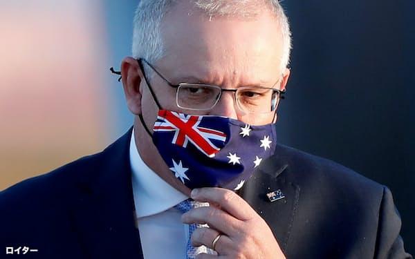オーストラリアのモリソン首相の対中姿勢は硬化している=ロイター