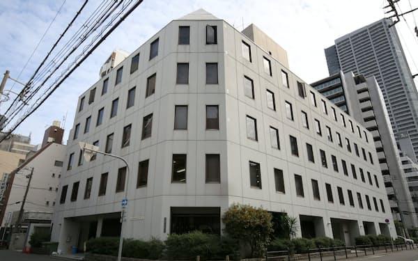 大阪堂島商品取引所(大阪市西区)