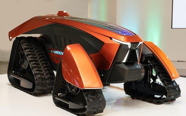 クボタは農機の無人自動運転の実現を目指す(写真はコンセプトモデル)