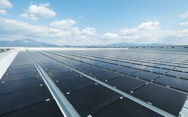 ソーラーフロンティアは百十四銀と業務提携し、太陽光パネルの販路を拡大する