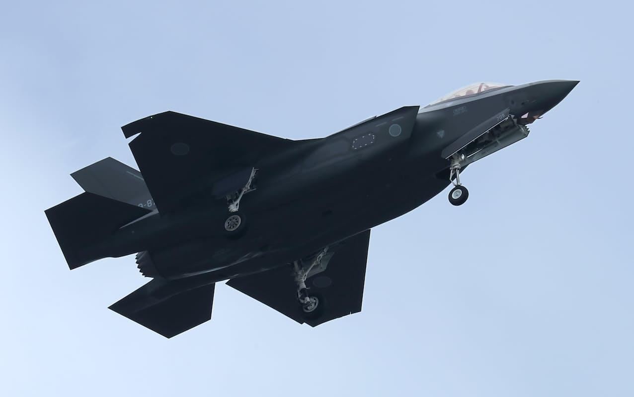 米ロッキード・マーチンはF35などの開発実績をもつ(ステルス戦闘機「F35A」)