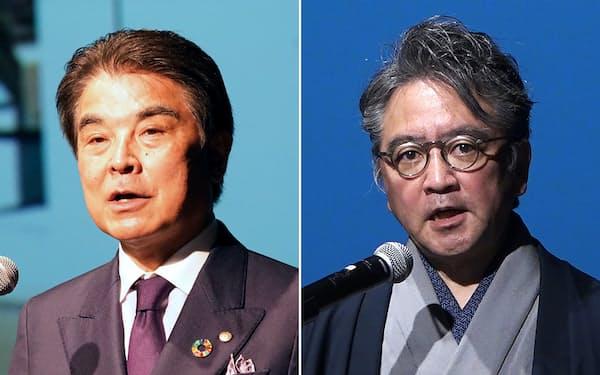 東急不動産の岡田正志社長(左)とCiP協議会の中村伊知哉理事長