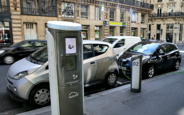 EVの世界市場は今後拡大が見込まれている