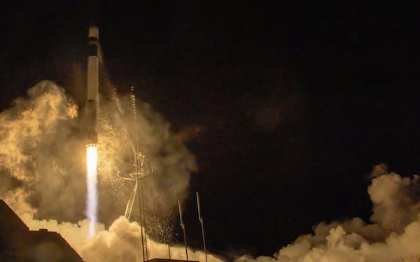 シンスペクティブの衛星打ち上げは初めて(ニュージーランドから発射される同社衛星を搭載したロケット)