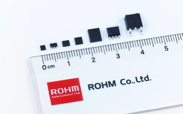 ロームはロボットなど産業機器向けの省エネ半導体を開発した