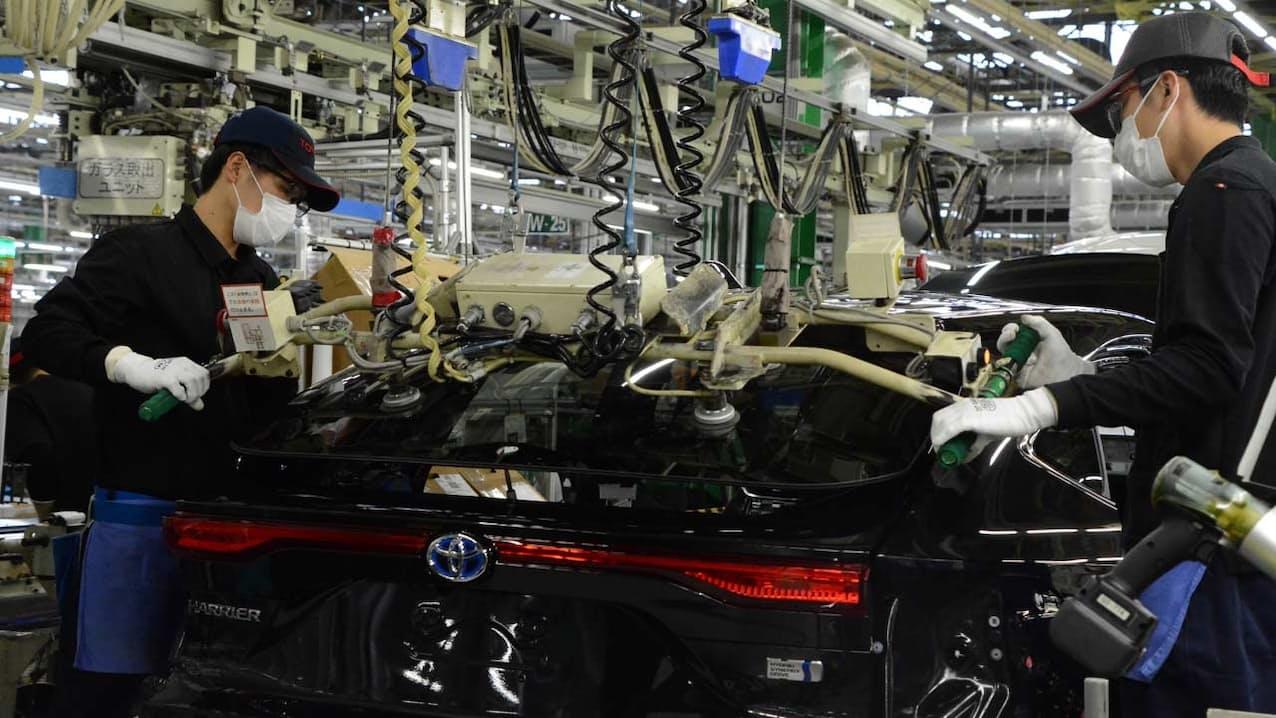 2020年度当初こそ新型コロナウイルス禍で販売を減らしたトヨタ自動車だが、足元では生産が大幅に回復している(愛知県豊田市の高岡工場)