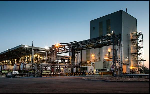 三菱ケミカルの英国の電解液工場