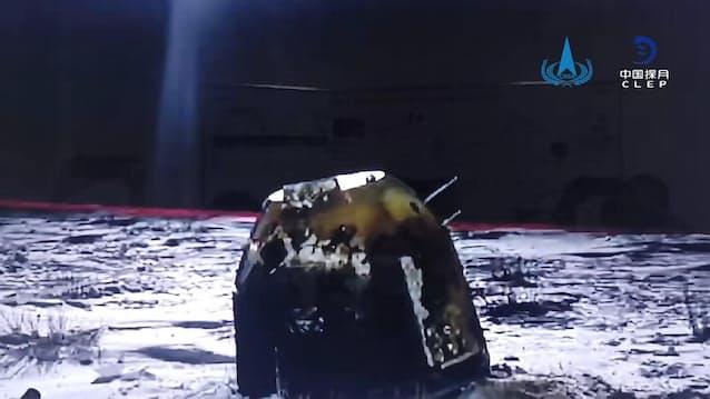 機 探査 中国 無人 の