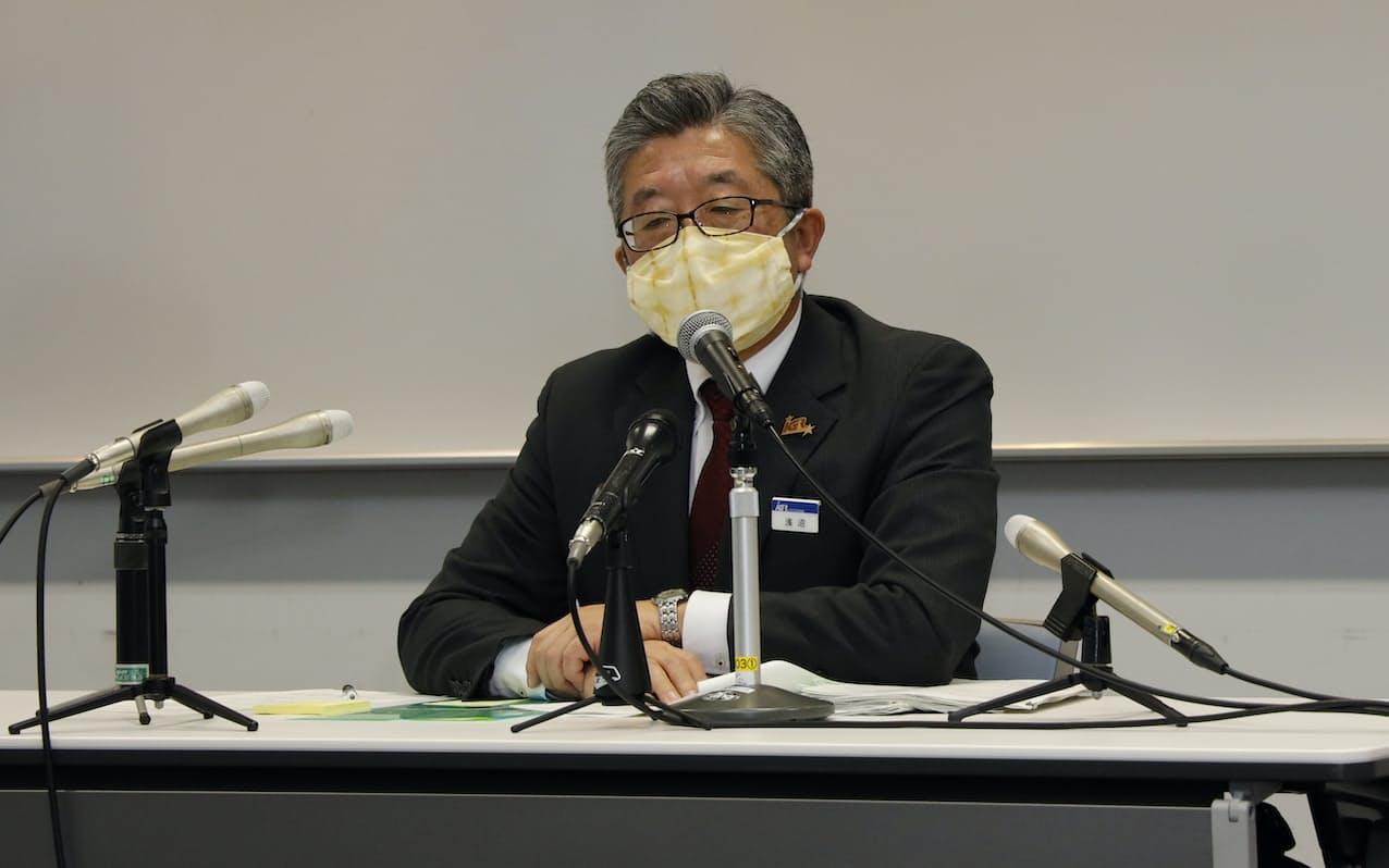 会見 岩手 コロナ 記者