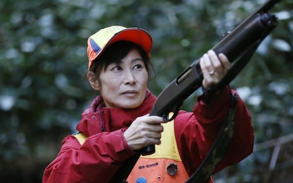 清水さんは年100頭以上を仕留めるすご腕ハンターだ