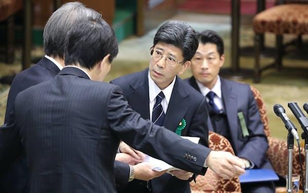 森友問題を巡る佐川宣寿元国税庁長官の証人喚問(2018年3月)