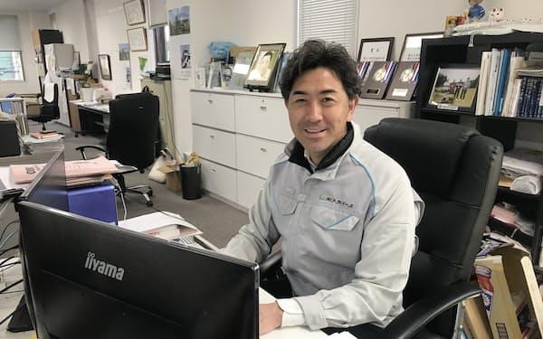 佐藤氏はトラバースの取締役として奮闘している