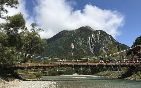 長野県有数の観光地である上高地も厳しい1年だった