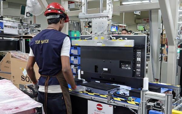 ソニーはマレーシアにあるテレビ組み立て工場で自動化を進める