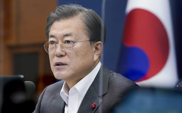 文在寅大統領は大統領府幹部を刷新し国政の立て直しを急ぐ=韓国大統領府提供