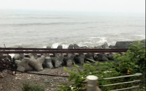 日高線の鵡川―様似間の廃線日は当初、11月1日に設定していた