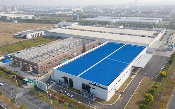 フィルムコンデンサーを増産する中国・宿遷の工場