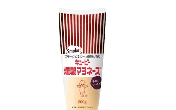 キユーピーが発売する薫製風味のマヨネーズ
