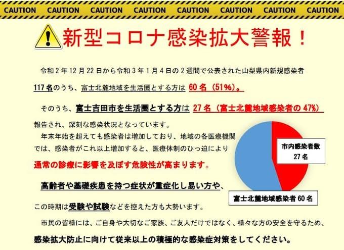 者 コロナ 情報 県 感染 山梨