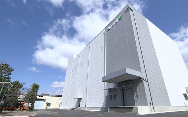 日本触媒の核酸医薬原薬などの製造施設(大阪府吹田市)