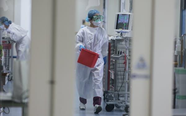 コロナ患者受け入れ病院の現場は疲弊している