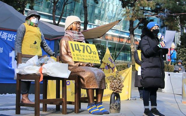 慰安婦訴訟、日本政府に賠償命令 ソウル中央地裁: 日本経済新聞