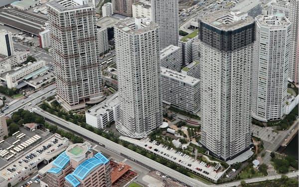 首都圏のマンション価格はコロナ下でも堅調に推移している