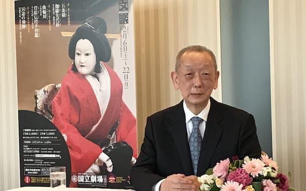 文化功労者になった文楽三味線の鶴澤清治