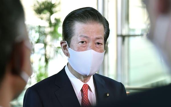 公明党の山口那津男代表=共同