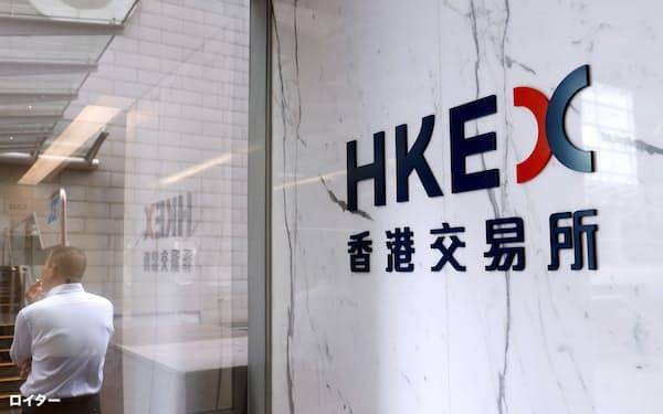 米投資銀行は香港取引所で一部の仕組み商品の上場を廃止する=ロイター
