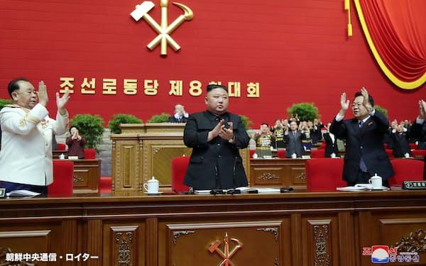 党総書記の肩書を復活させた金正恩氏=朝鮮中央通信・ロイター